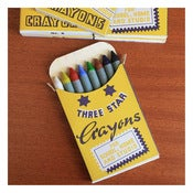 Image of WAX CRAYONS by Three Stars