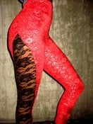 Image of BANDANNA / LACE HIP POP LEGGING