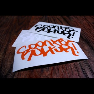 Image of Graffiti Counter Kultur Decal