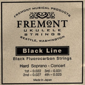 Image of Fremont Blackline Hard Gauge Ukulele Strings