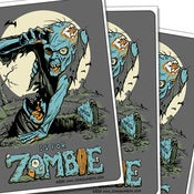 Image of Z is for Zombie Sticker 3 Pack