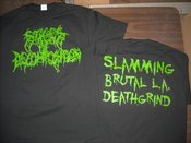 Image of Stages of Decomposition Shirt &quot;Slime Green&quot;