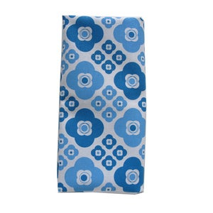 Image of Bloom Napkins {blue set-4}