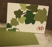Image of  Alpha Phi Ivy Note Cards