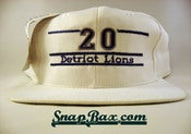 Image of VINTAGE DETROIT LIONS GAME MISPRINT SNAPBACK