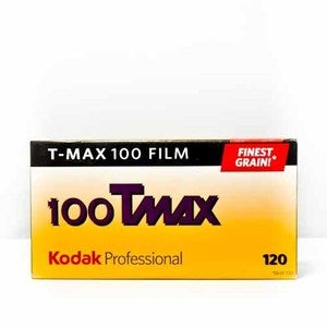 Image of Kodak T-Max 100 - B&W 120 Film