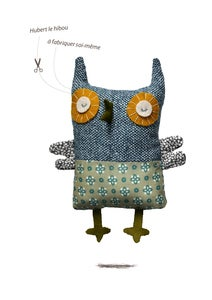 Image of Hubert le hibou /kit doudou