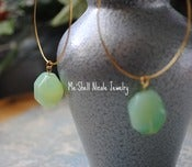 Image of So Amazonite earrings