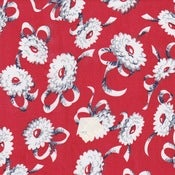 Image of Red Ribbons & Daisies