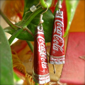 Image of Bottle Cap Earrings