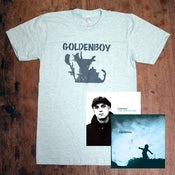 Image of Goldenboy Package #2: 2 CD's + tee + signed poster
