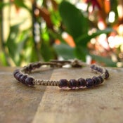 Image of Delicate Purple Anklet/Bracelet