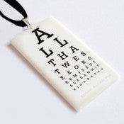 Image of The Eye Chart Pendant
