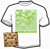 Image of Tangled Hair - Apples EP and t-shirt