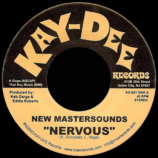 Image of KD001-NEW MASTERSOUNDS