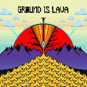 "Image of Groundislava gold 7"" vinyl featuring remix by Clive Tanaka and Beaunoise"