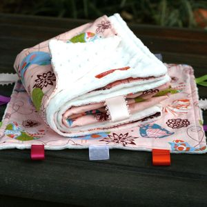 Image of Starling in Pink Blanket & Blankie Set - Best Seller