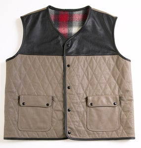 Leather Vest | Womens Vintage Clothes