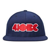 Image of 410 BC LOGO navy fitted cap