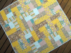 Image of Geometric Quilt Pattern