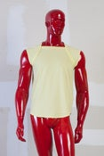 Image of Sleeveless Square Neck T-Shirt