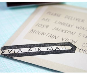Image of Air Mail Stamp