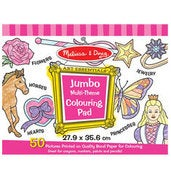 Image of Jumbo Coloring Pad - Pink