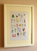 Image of Alphabet - A4 Print