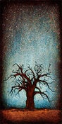 "Image of ""Horizon Tree Baobab 1"" <br> Size: 12x6"" <br> 2nd photo shows size"