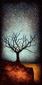 "Image of ""Horizon Tree Dormant 1"" <br> Size: 12x6"" <br> 2nd photo shows size"