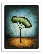 "Image of 8x10"" Paper Print - Horizon Series - Peace Tree 2"