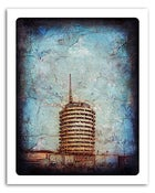 "Image of 8x10"" Paper Print - Hollywood Series - Capitol Records"