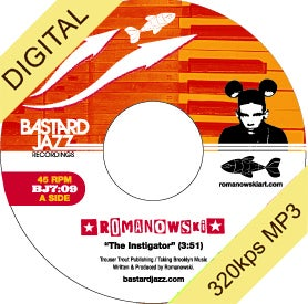 Image of Romanowski - The Instigator / Sol Cumbia Digi-7&quot;
