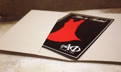 Image of Alpha Phi Red Dress Gala Invitations - Pocket Enclosure or Gatefold