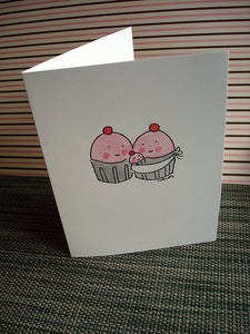 Image of Single Notecards: New Baby Cupcake Notecard
