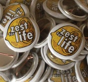 Image of Zest For Life Badge