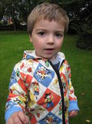 Image of Reversible Zippy Hoodie pattern UNISEX 18m/2T/3T/4T - PDF