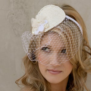 Image of Birdcage Hat