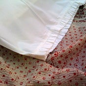 Image of Cotton Ruffle Pillowcases