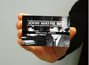 Image of John Wayne Bro - Man Of The People - DropCard with FULL LENGTH ALBUM