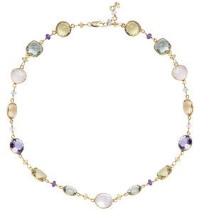 Image of Kara Ackerman <i> Judie Collection <i/> Necklace with Faceted Stones 24""