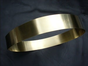 Image of Halston Belt Gold