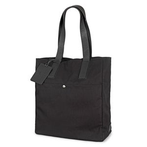 Image of Cotton Canvas & Leather Tote