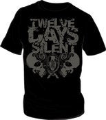 Image of 12 Days Silent Shirt - Black