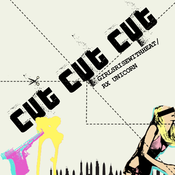 Image of girlsRISEwithHEAT/RXunicorn - CUT CUT CUT (SSRTC-003) September 2009
