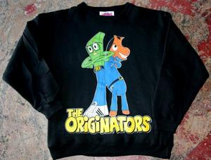 Image of GUMBY &amp; POKEY [GUMBO] CREW-NECK