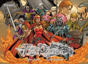 Image of TEARS of the DRAGON - Volume 1 (FREE Shipping + Artist Edition Upgrade!)