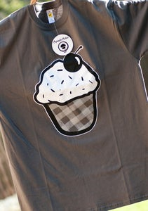 Image of Summer Cupcake - Mens Charcoal Grey