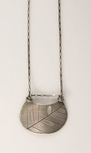 Image of Demilune cutout Necklace