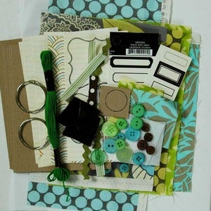 Image of Sew Grateful kit and tutorial - green or pink